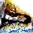 松本さんの絵 第484◎ ト伝の湯