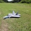 スチレンボードでラジコンのF22戦闘機を制作