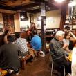 富士見台の居酒屋「流」で文音ワンマンライブ