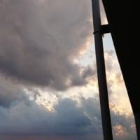 よい天気だぁ~そして昨日の夕方の空の巻