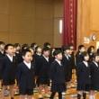 一・二年生の全校集会発表