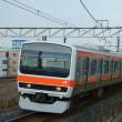 2018年7月23日 武蔵野線  吉川 209系 M73編成