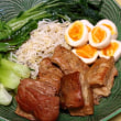 蒸し寿司&煮豚