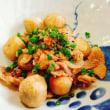 里芋と豚肉の照り焼き!