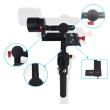 Steadymaker SMG Plus 3軸 32ビット ハンドヘルド ジンバル カメラ マウント スタビライザー