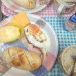 パンと目玉焼き