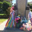 今日は八幡大空襲の日です。思いがけず、今日の現場が八幡図書館横で、目の前が防空壕のあった小伊藤山公園でした。