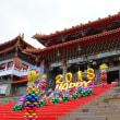 台湾ツアー 極彩色・台湾最大の廟 文武廟 3