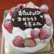 さわやかなバースデーケーキ