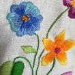 3月刺繍の宿題