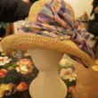 日除けしてください  ~Shokoの新作真夏の帽子