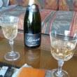 花火とシャンパン