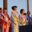 有明海花火フェスタ  観光柳川キャンペーンレディ水の精  2017・8・27