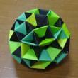 ◎120枚の折り紙から形成された多面体