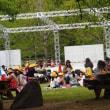 爽やかな5月の長居植物園でジャズオルガンライブ3連発