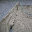 毛糸だま175よりサイチカ先生デザインのスモッキングコート進捗2
