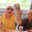父の日行事「おやじの会」! 餃子とビールでイヤッッホォォォオオォオウ! 最後はアイスクリームで〆! の巻
