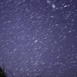 冬の夜空の流れ星☆