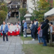秋祭と鯖寿司