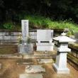 彼岸の墓掃除