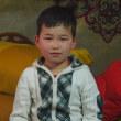 モンゴルの男の子
