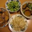 煮物2品とモヤシ、セロリ:平日ディナー【4/6】
