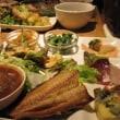 野菜多めのランチ
