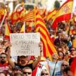 """スペイン・カタルーニャ  """"板挟み""""状態の州側 自治権停止の強権に手をかける中央政府"""