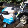 ついに買ったミニ耕うん機 kubotaの楽々耕うん機は…