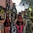 ワインボトル Digital art
