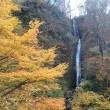 菱が岳黄葉と不動滝