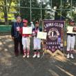 第40回ライオンズ旗争奪少年野球大会 最終日