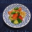 鶏肉、きゅうり甘酢炒め