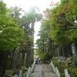 武蔵御嶽神社の狛犬たち