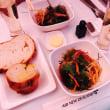 オークランド旅行7日目☆ニュージーランド航空夕食