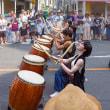 2017.08.06 中野区 鍋屋横丁夏祭り: エネルギー躍動の和太鼓