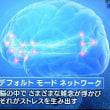 ■頭蓋仙骨仙骨療法の勧め。脳のでデフォルトネットワーク脳の活性について