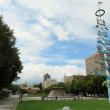 散策!札幌(20) 大通公園を歩き、イサム・ノグチのすべり台を見る