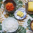 池波正太郎好みの卵焼きにニンジンおろしを添える朝