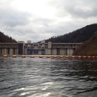 豪雨で苫田ダムに過去最多の流入