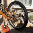 自転車 前後タイヤ交換
