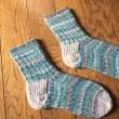 昨冬からの靴下完成