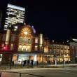 2017年12月13日,夜の東京駅