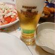 サラダがメインかな&ビールどうする?!