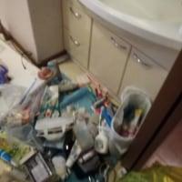 大パニックで浴室ドアが