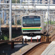 JR浦和駅北側の急こう配