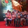 屏東開催の台湾ランタンフェス、目玉の「マグロ」公開