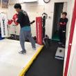 遅ればせながら初ボクシング練習でした。