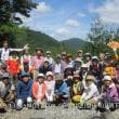 11 鬼ヶ城山(737m:安佐北区)登山(続き)  登頂の証に集合写真
