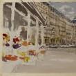 パリの街角 1 「 フラワーショップ 」